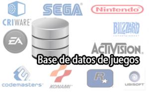 Base de Datos de Juegos